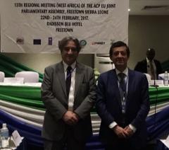 Carlos Zorrinho e Ricardo Serrão Santos participam na Assembleia Parlamentar UE / África Ocidental