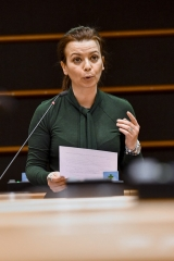 Liliana Rodrigues responsável S&D pela negociação dos fundos para a investigação e migração